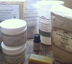 A Homemade Herbal Deodorant: For Sensitive Skin ~ And a Fun Giveaway for You