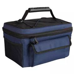 Coleman 14 Can Rugged Lunch Box Soft Cooler, Blue / Black Ice Chest Cooler, Cooler Box, Picnic Cooler, Soft Cooler, Lunch Cooler, Grand Theft Auto, Cooler With Wheels, Igloo Ice, Cooking Shop