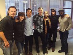 ツ Andrew, Chandler, Steven, Melissa, Norman & Lennie