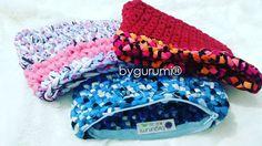 Y más #minibolsos o #maximonederos.  #trapillo #crochet #ganchillo #crochetaddict #bolso #instatrapillo #instacrochet  #handmade #diy #hechoamano #artesania by bygurumi