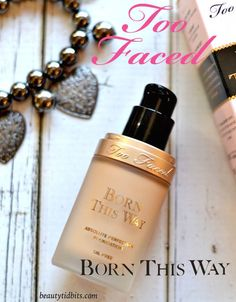 Too Faced Born This Way Foundation is one of the best foundations I've ever tried! >> beautytidbits.com | via @beautytidbits