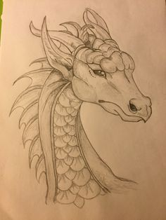 Dragon drawing  #dragon #drawing #tattooideas