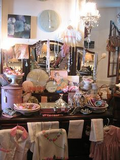 Shop interior Lyme Regis