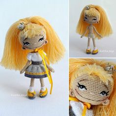 Sunny Princess amigurumi doll. (Inspiration).