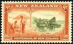 King George VI New Zealand 1940 Centenary of Proclamation of British Sovereignty