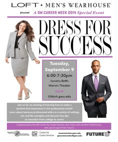 Business Professional Attire Interview Look Dress For Success Gw Rsvp Real Life Theater Career