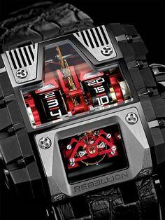 Rebellion T-1000 Gotham Watch Watch Releases