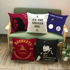 Harry Potter Movie Poster CushionCover 45*45cm