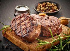 grilled beef steaks by marazemgaliete
