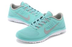 Nike FS Lite Run Womens Shoes Light Blue Outlet
