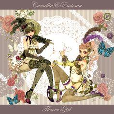 Camellia & Eustoma