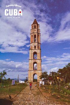 Torre Manaca Iznaga Trinidad Going To Cuba, San Francisco Ferry, Trinidad, Big Ben, Notre Dame, Building, Travel, Painting, Rook