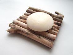 Driftwood Soap Dish Wooden Soap Tray Soap Holder N Diy Soap Dish Holder, Diy Soap Tray, Wood Soap Dish, Soap Dishes, Diy Savon, Soap Maker, Soap Packaging, Soap Recipes, Home Made Soap