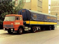 hanomag henschel -P.A Vermey met kangeroe trailer 1969.