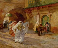Women of Algiers by Frederick Arthur Bridgman, undated