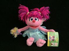 "Sesame Street Abby Cadabby Plush 10"""