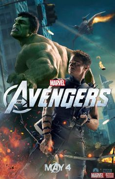 """More New Movie Posters of """"Marvel's The Avengers"""""""
