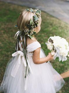 8a1e2ad06c1 Emerald Green Wedding at William Aiken House. Flower GirlsGreen ...