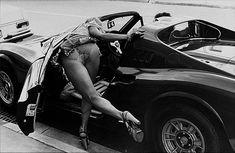 Rennie Ellis Dino Ferrari Toorak Road 1976