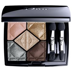 Buy Diorshow 5 Couleurs Eye Palette from DIOR here. What it is: An eye palette that features an easy, five-step makeup lesson (base, Dior Makeup, Eyebrow Makeup, Makeup Eyeshadow, White Eyeshadow, Makeup Cosmetics, Dior Beauty, Beauty Makeup, Beauty Ad, Beauty Marks