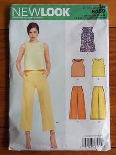 Last year, my pant pattern crush was ALL about Butterick 6178 which I blogged here  and here . For me, one clear benchmark of a Pattern ...
