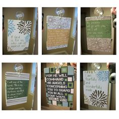 Scripture and encouragement for your mirror by EmilyBurgerDesigns