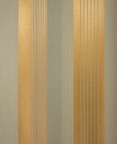 Eslovaquia. Elegante combinación de rayas de anchuras diversas en tonos dorados y oscuros.los sobre superficie lisa. #wallpaper #decoration