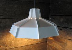 Octagon Lamp White : brendan ravenhill : lighting