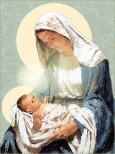 Mother Mary and Baby Jesus Mother Mary and Baby Jesus Jesus Mother, Blessed Mother Mary, Divine Mother, Blessed Virgin Mary, Baby Jesus, Mama Mary, Mary I, Mary And Jesus, Holy Mary