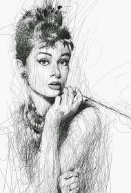 Por el Amor del Art-E: El arte del garabato Photoshop Tutorial, Vince Low, Drawings With Meaning, Scribble Art, Paintings Famous, Art Inspiration Drawing, Drawing Ideas, Heart Painting, Art Case