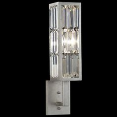 Fine Art Lamps Crystal Enchantment Single Sconce