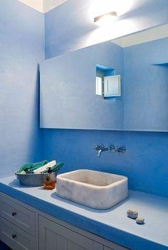 Casinha colorida: Vamos colorir o banheiro??