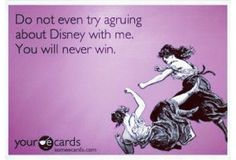 True... And my Disney knowledge doesn't diminish with age either :/