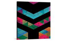 GEO ARMY 2 - CANVAS PRINT [CP-39234] - $224.00 | United Artworks | Original art for interior design, buy original paintings online
