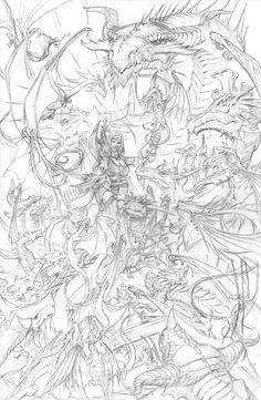 Mistress of Dragons by RalphHorsley.deviantart.com on @deviantART