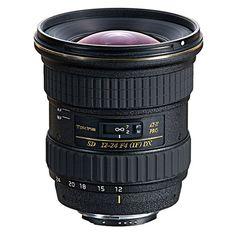 Tokina 12-24 - Available for Canon & Nikon Mounts.
