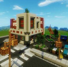 Minecraft_biome KFC build