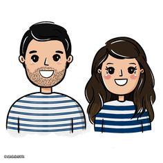 ilustraca-personalizada-casal-amor-fofo-kenia-lopes