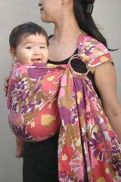 floral ring sling