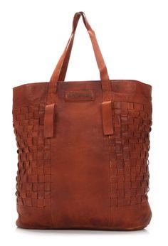 Tote Leather cognac 44 cm