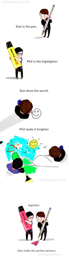 Danisnotonfire and AmazingPhil (Halloween Bake Dan And Phil)