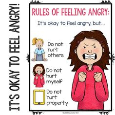 This elementary school anger management small group counseling program is solution-focused and desig Anger Management Activities For Kids, Play Therapy Activities, Counseling Activities, Group Counseling, Positive Behavior Management, Classroom Management, Coping Skills, Social Skills, Solution Focused Therapy