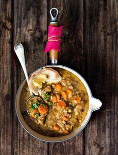 Lam & lensiesop New Recipes, Soup Recipes, Cooking Recipes, Healthy Recipes, Yummy Recipes, Healthy Food, South African Dishes, South African Recipes, Ethnic Recipes