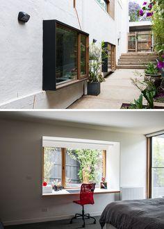 f4a568ffa18 Small Home Office Design Idea - Create A Desk From A Window Surround