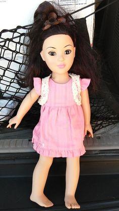 "Madame Alexander 18"" Doll Almond Shape Eyes Asian Oriental Features"