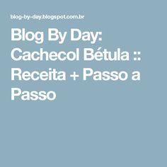 Blog By Day: Cachecol Bétula :: Receita + Passo a Passo