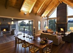 Dining - Ahuru Lodge