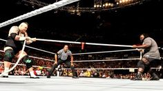 Mark Henry takes on Sheamus, Brodus Clay and Tensai in Tug of Wars: Raw, April 29, 2013