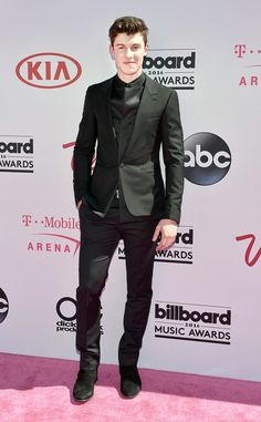 """Shawn Mendes from Billboard Music Awards 2016 Red Carpet Arrivals  We could see the ladies swooning as soon as the """"Stitches"""" singer walked the carpet."""