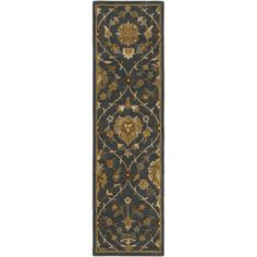 Artistic Weavers Middleton Alexandra Hand-Tufted Blue Area Rug Rug Size: Runner x Area Rug Runners, Accent Rugs, Indoor Rugs, Rug Store, Online Home Decor Stores, Throw Rugs, Cool Rugs, Rugs Online, Blue Area Rugs
